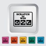 Scratch card Stock Photo