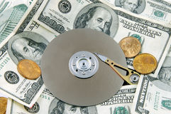 Scratch Disc Royalty Free Stock Images
