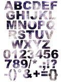 Scratch font Royalty Free Stock Photos