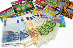 Scratch game Royalty Free Stock Photo