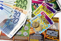 Scratch game Stock Photo