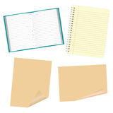 Scratch paper Stock Photo