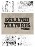 Scratch textures Stock Images