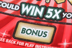 Scratch ticket background Royalty Free Stock Images