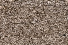 Scratch on wood for pattern and background Royalty Free Stock Image