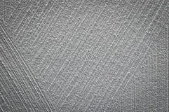 Scratched在混凝土墙纹理背景弯曲了 图库摄影