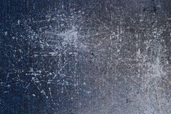 Scratched abstract denim texture Stock Photography
