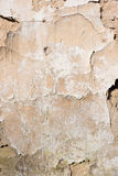 Scratched aged wall plaster Royalty Free Stock Photo