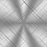 Scratched Alluminum Background Stock Photos