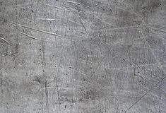 Scratched aluminium panel texture. Background royalty free stock image