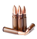 Scratched ammunition Stock Photography
