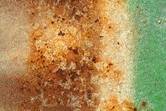 Scratched befläckte metalltextur; abstrakt grungebakgrund Arkivbild