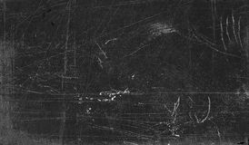 Scratched blackboard surface