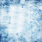Scratched blue metal texture Royalty Free Stock Photos