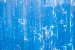 Scratched blue metallic texture Royalty Free Stock Image