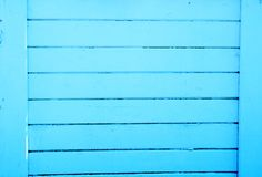 Wooden background, blue old fence texture stock photos