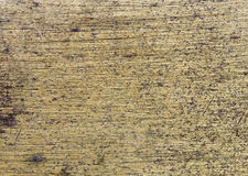 Scratched brass background Royalty Free Stock Images