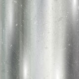 Scratched brushed metal background Stock Image