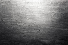 Scratched brushed metal texture Stock Photos