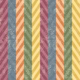 Scratched chevron seamless background. Vector Stock Photography