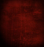 Scratched dark red wall Stock Image