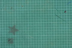 Scratched desk pad Royalty Free Stock Photos