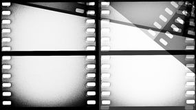 Scratched film strip background. Vintage scratched film strip background Royalty Free Stock Photos