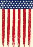Scratched flag of USA Royalty Free Stock Photography