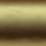 Scratched gold metal background Stock Image