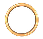 Scratched Golden Ring Royalty Free Stock Photography