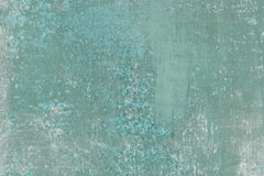 Scratched green and blue metal surface Royalty Free Stock Photo