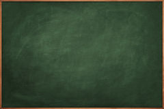 Scratched green chalkboard Royalty Free Stock Photography