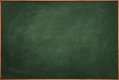 Scratched green chalkboard vector illustration