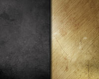 Scratched grunge metal background Stock Image