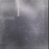 Scratched ha perforato il fondo del metallo Fotografie Stock Libere da Diritti