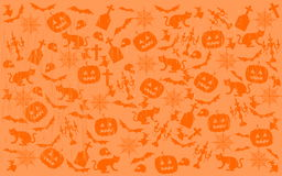 Scratched Halloween Background Stock Photography