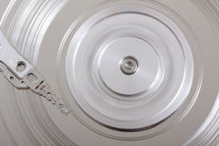 Scratched Hard Disk V Stock Images