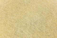 Scratched industrial brass surface background. high-detailed met Stock Photography