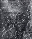 Scratched Metal. Scratched iron grunge metal distressed royalty free stock photo