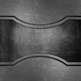 Scratched metal background Royalty Free Stock Images