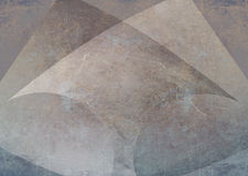 Scratched metal background with arrow shape Royalty Free Stock Image