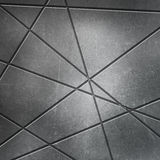 Scratched metal background with cut outs Stock Photo