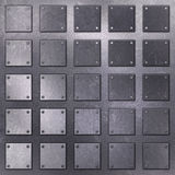 Scratched metal background Stock Photos