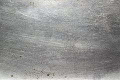 Scratched metal bright texture background Royalty Free Stock Photography
