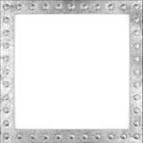 Scratched metal frame Royalty Free Stock Photo