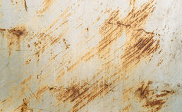 Scratched metal. Painted silver paint. rusty scratched space Royalty Free Stock Images