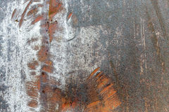 Scratched metal texture Stock Images