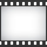 Scratched Old Film Stripe Frame Royalty Free Stock Image
