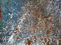 Scratched Old Rusty Grunge Metal Texture Background royalty free stock image
