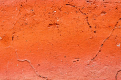 Scratched orange Stock Photography